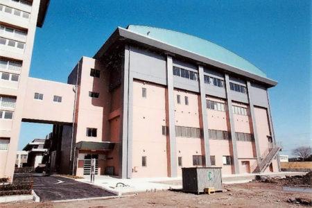 2001 新潟市立万代高校(体育館棟)新築工事