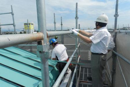 2014 上山中学校屋内体育館屋根改修工事監理